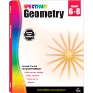 Spectrum Geometry Grades 6-8 by Spectrum, 9781483816623