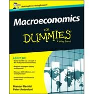 Macroeconomics for Dummies by Rashid, Manzur, 9781119026624