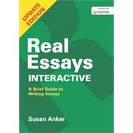 Real Essays Interactive A Brief Guide to Writing Essays by Anker, Susan, 9781457696626