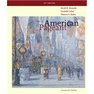 American Pageant : A History of the American People AP Edition by KENNEDY, 9780547166629