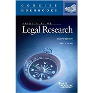 Principles of Legal Research by Olson, Kent, 9780314286642