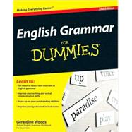 English Grammar For Dummies by Woods, Geraldine, 9780470546642