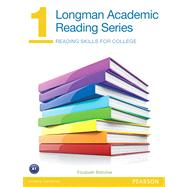 Longman Academic Reading Series 1 Student Book by Bottcher, Elizabeth, 9780132786645