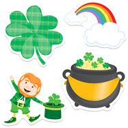St. Patrick's Day Cut-outs by Carson-Dellosa Publishing Company, Inc., 9781483836645