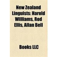New Zealand Linguists by , 9781158436651