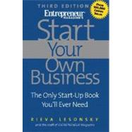 Start Your Own Business by LESONSKY RIEVA, 9781932156652