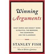 Winning Arguments by Fish, Stanley Eugene, 9780062226655