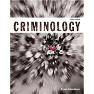 Criminology (Justice Series) Plus MyCJLab with Pearson eText -- Access Card Package by Schmalleger, Frank J., 9780133816655