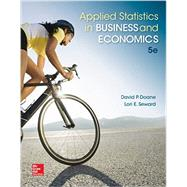 Applied Statistics in Business and Economics with Connect Access Card with LearnSmart by Doane, David; Seward, Lori, 9781259396656