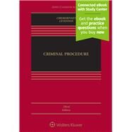 Criminal Procedure by Chemerinsky, Erwin; Levenson, Laurie L., 9781454876656