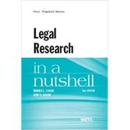 Legal Research in a Nutshell by Cohen, Morris L.; Olson, Kent C., 9780314286659