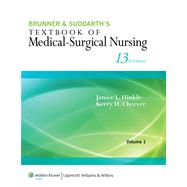 Brunner & Suddarth's Textbook of Medical-Surgical Nursing by Hinkle, Janice L.; Cheever, Kerry H., 9781451146660