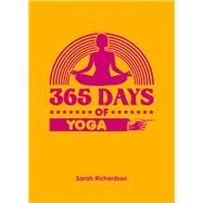 365 Days of Yoga by Richardson, Sarah, 9781849536660