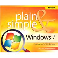 Windows 7 Plain & Simple by Joyce, Gerald; Moon, Marianne, 9780735626669
