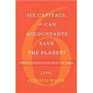 Six Capitals, or Can Accountants Save the Planet?: Rethinking Capitalism for the Twenty-first Century by Gleeson-white, Jane, 9780393246674