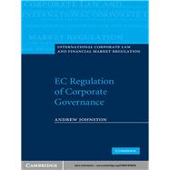Ec Regulation of Corporate Governance by Andrew Johnston, 9780521876674