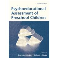 Psychoeducational Assessment of Preschool Children by Unknown, 9781138866676