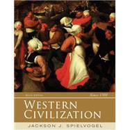 Western Civilization, Alternate Volume Since 1300 by Spielvogel, Jackson J., 9781285436685