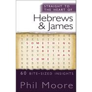 Straight to the Heart of Hebrews and James: 60 Bite-sized Insights by Moore, Phil, 9780857216687