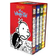 Diary of a Wimpy Kid Box of Books 1-4 Revised by Kinney, Jeff, 9781419716690