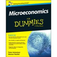 Microeconomics for Dummies by Antonioni, Peter, 9781119026693