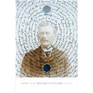 Nothing to Declare Poems by Cole, Henri, 9780374536695