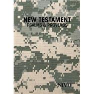 Holy Bible: New International Version, New Testament With Psalms and Proverbs, Military Edition by Zondervan, 9781563206696