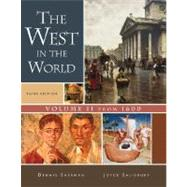 The West in the World, Volume II: From 1600 by SHERMAN, 9780073316703