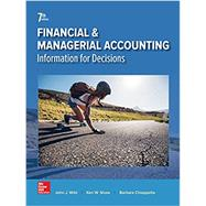 Financial and Managerial Accounting by Wild, John; Shaw, Ken; Chiappetta, Barbara, 9781259726705