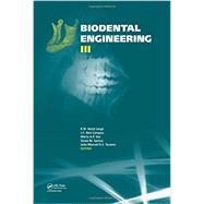 Biodental Engineering III by Jorge; R.M. Natal, 9781138026711