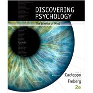 Bundle: Discovering Psychology: The Science of Mind, Loose-Leaf Version, 2nd + MindTap® Psychology, 1 term (6 months) Printed Access Card, 2nd Edition by Cacioppo; Freberg, 9781305626713