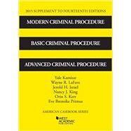 Modern Criminal Procedure by Kamisar, Yale; Lafave, Wayne; Israel, Jerold; King, Nancy; Kerr, Orin, 9781634596718