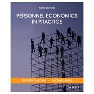 Personnel Economics in Practice by Lazear, Edward P.; Gibbs, Mike, 9781118206720