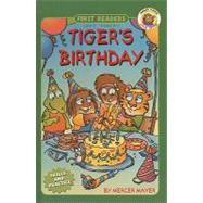Tiger's Birthday by Mayer, Mercer, 9780756916725