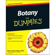 Botany For Dummies by Fester Kratz, Rene, 9781118006726