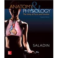 Loose Leaf Version for Anatomy and Physiology: A Unity of Form and Function by Saladin, Kenneth, 9780077676728