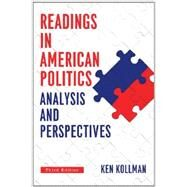 Readings in American Politics: Analysis and Perspecitves by Kollman, Ken, 9780393936742