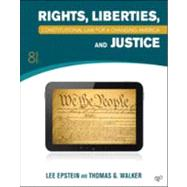 Rights, Liberties, and Justice by Epstein, Lee; Walk, Thomas G., 9781452226743