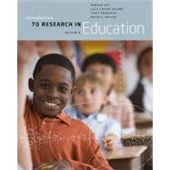 Introduction to Research in Education by Ary, Donald; Jacobs, Lucy Cheser; Sorensen Irvine, Christine K.; Walker, David, 9781133596745
