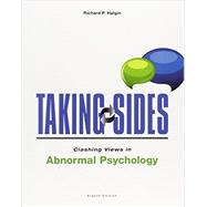 Taking Sides: Clashing Views in Abnormal Psychology by Halgin, Richard, 9781259176746