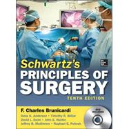 Schwartz's Principles of Surgery, 10th edition by Brunicardi, F.; Andersen, Dana; Billiar, Timothy; Dunn, David; Hunter, John G.; Matthews, Jeffrey; Pollock, Raphael E., 9780071796750