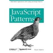JavaScript Patterns by Stefanov, Stoyan, 9780596806750
