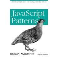 JavaScript Patterns by Stefanov, Stoyan, 9780596806750