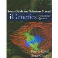IGenetics Study Guide and Solutions Manual : A Mendelian Approach by Russell, Peter J.; Chase, Bruce J., 9780805346756