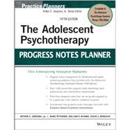 The Adolescent Psychotherapy Progress Notes Planner by Jongsma, Arthur E.; Peterson, L. Mark; McInnis, William P.; Berghuis, David J., 9781118066768