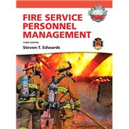Fire Service Personnel Management with MyFireKit by Edwards, Steven T., 9780135126776