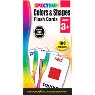 Spectrum Colors & Shapes Flash Cards by Spectrum, 9781483816777