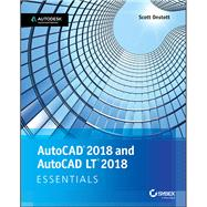 Autocad 2018 and Autocad Lt 2018 Essentials by Onstott, Scott, 9781119386780