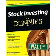 Stock Investing for Dummies® by Mladjenovic, Paul, 9781118376782