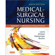 Medical-surgical Nursing: Assessment and Management of Clinical Problems, Single Volume by Lewis, Sharon L., RN, Ph.D.; Dirksen, Shannon Ruff, RN, Ph.D.; Heitkemper, Margaret M., RN, Ph.D.; Bucher, Linda, RN, Ph.D., 9780323086783